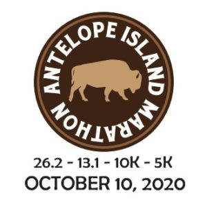 Antelope Island Marathon Logo