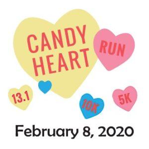 Candy Heart Run Logo