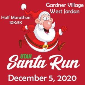 Santa Run Logo West Jordan