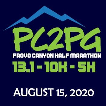 Provo Canyon to Pleasant Grove Race Logo